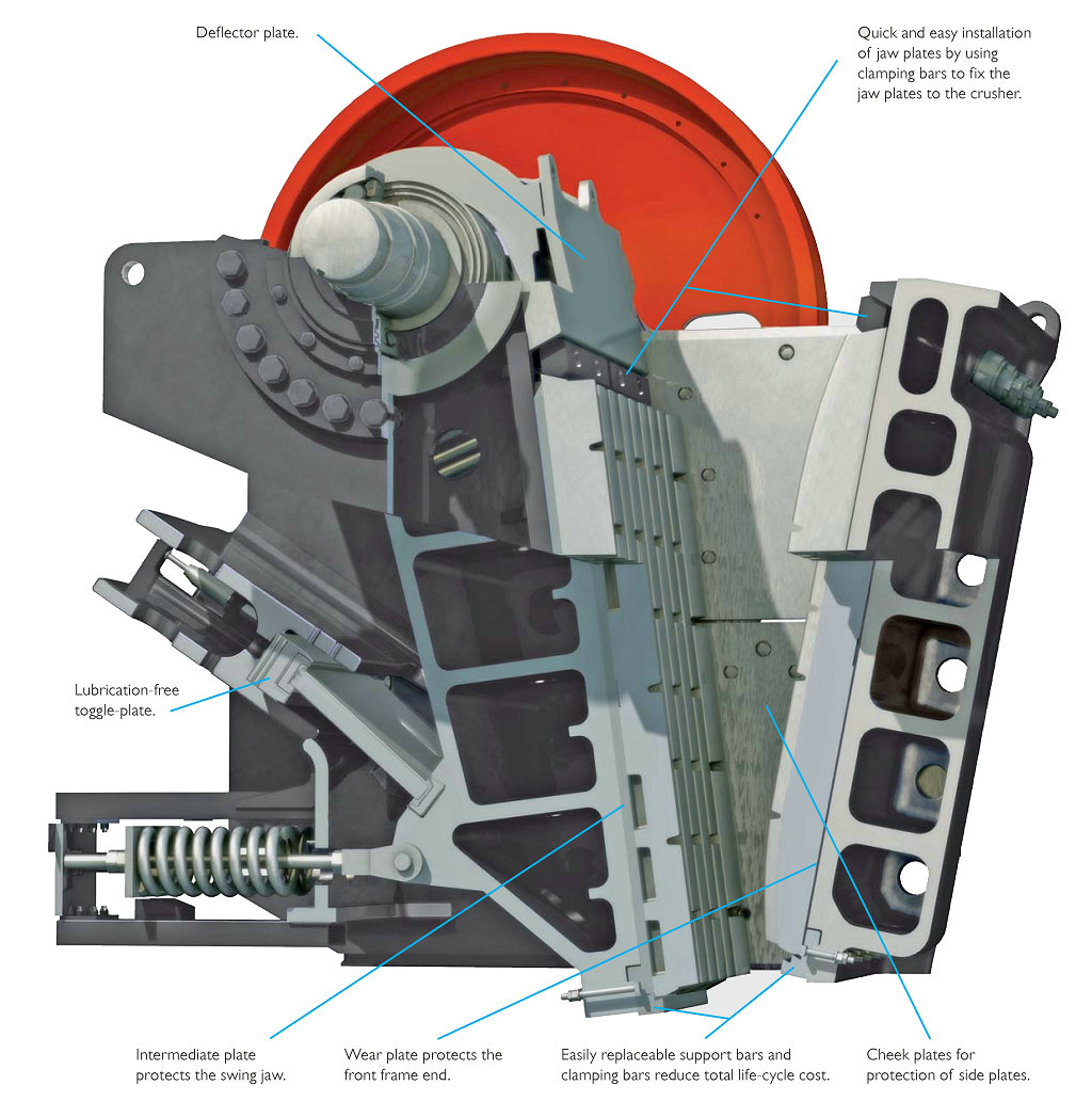 jaw crusher drawing